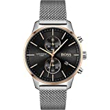 Hugo Boss Quarz Uhr mit Edelstahl Armband 1513805